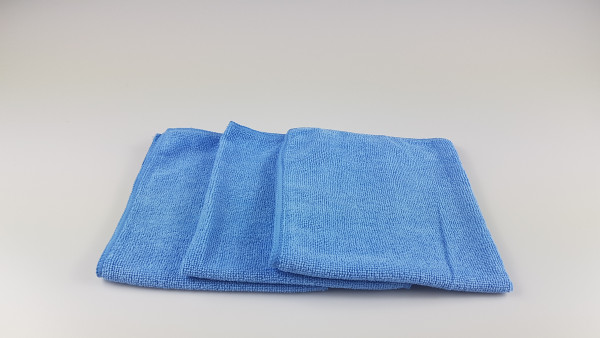 Microfasertuch blau