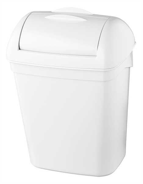 Hygiene-Abfallbehälter 8 Liter Kunststoff weiß
