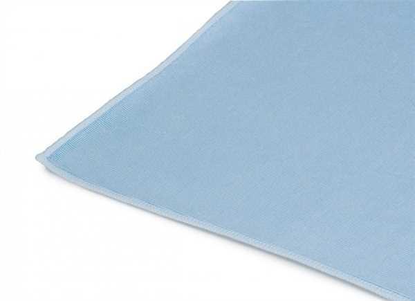 Microfasertuch, blau 50 x 70 cm Geschirr-/Gläser und Küchentuch mit Aufhänger