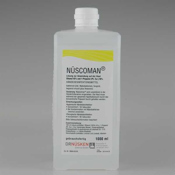 Nüscoman Händedesinfektion 1 L