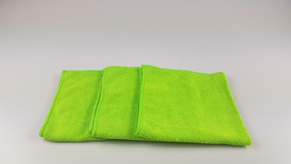 Microfasertuch grün