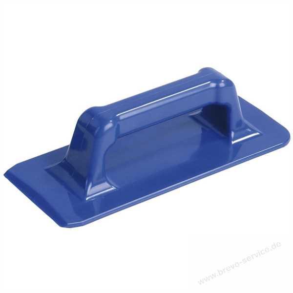 Padhalter mit Griff, blau, Hand