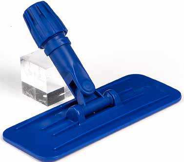 Padhalter, blau, mit Stielaufnahme