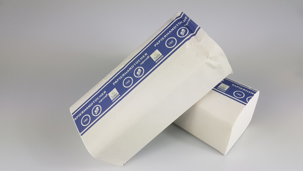 Falthandtücher Papier, weiß, 25x23 cm, 3200 im Karton