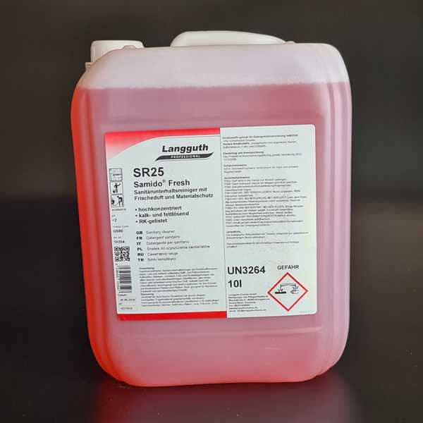 SR25 Sanitärreiniger, Samido Fresh 10 Liter