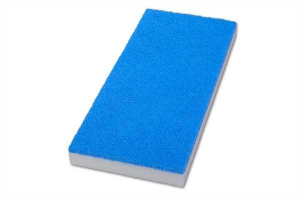 Melamin-Pad, blau/weiß