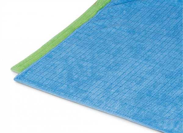 Microfasertuch, blau 50 x 60 cm Bodentuch/Geschirr und Küchentuch